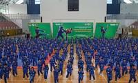 Turnier der vietnamesischen Kampfkunst Vovinam in Ho Chi Minh Stadt
