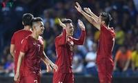 Vietnamesische Fußballnationalmannschaft wird im September für zwei große Ziele trainieren