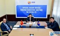 Sonderonline-Konferenz der Außenminister der ASEAN und Russlands über die Bekämpfung der Covid-19-Epidemie