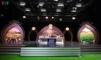 Live-Sendung-Wettbewerb beim 14. nationalen Radiofestival in Dong Thap
