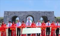 Das Projekt zur Restaurierung des südlichen Tors der Zitadelle der Ho-Dynastie eingeweiht