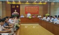 Vizepremierminister Truong Hoa Binh tagt mit Provinzverwaltern der Provinz Vinh Phuc