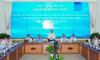 Premierminister tagt mit Leitern von Ho Chi Minh Stadt über Auszahlung öffentlicher Investitionskapitale