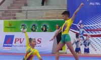 Eröffnung des nationalen Gymnastik-Turniers Aerobic