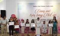 """Ausstellung """"Leidenschaft auf jedem Zeichen"""" in Hanoi"""