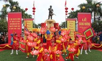 Unterlage zur Anerkennung des Festes Nguyen Trung Truc als nationales immaterielles Kulturerbe