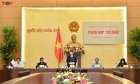 Erste Sitzung der nationalen Wahlkommission