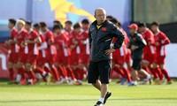 Fußballnationalmannschaft versammelt sich von 18. bis 25. August