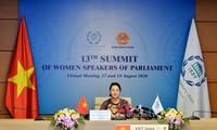 Parlamentspräsidentin: Förderung der Geschlechtergleichheit und Machtübergabe an Frauen ist konsequente Politik Vietnams
