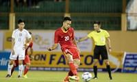 Trainer Park Hang-seo benutzt den Rahmen des Fußballklubs Hanoi für die Innenverteidigung der U22-Fußballnationalmannschaft