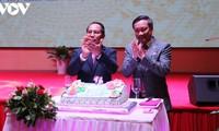 Feier zum 75. Nationalfeiertag Vietnams in Frankreich, Laos und Venezuela