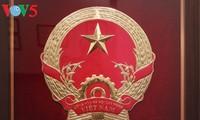 Ausstellung über die Entstehung des vietnamesischen Wappens in Hanoi