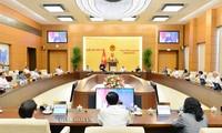 Abschluss der 48. Sitzung des Ständigen Ausschusses des Parlaments