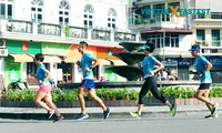 Start des Laufwettbewerbs Viettel Fastest 2020