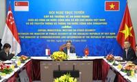 Verstärkung der Zusammenarbeit zwischen Vietnam und Singapur in Cybersicherheit