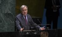 UN-Generalsekretär ruft zur Verpflichtung über die Förderung der Rechte der Frauen auf