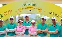 Vierte Meisterschaft der Golfklubs der Stadt Hanoi: Für Schönheit der 36 Straßen