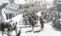 Wertvolle Fotos über den Tag der Befreiung der Hauptstadt am 10. Oktober 1954