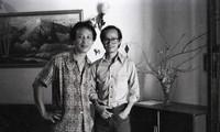Ausstellung von Schwarzweißfotos über Komponist Trinh Cong Son in Hanoi