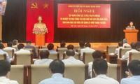 Eröffnung der 13. Konferenz der Parteileitung der Zentralbehörden