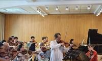 Geigenspieler vieler Generationen werden beim Galaxie-Konzert spielen