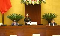 Parlamentssitzung: Schweigeminute für Katastrophenopfer