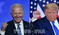 Joe Biden führt US-Präsident Donald Trump weiterhin mit etwa 3,8 Millionen der Stimmen an
