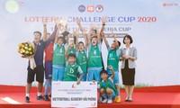 Vietfootball Academy gewinnt Qualifikationsrunde des Lotteria-Pokals Hai Phong