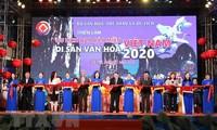 """Eröffnung der Ausstellung """"Tourismus durch vietnamesisches Kulturerbe 2020"""""""
