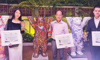 45 Jahre der Vietnam-Deutschland-Beziehungen: Vorstellung der drei Gewinner des Buddy-Bär-Kunstwettbewerbs