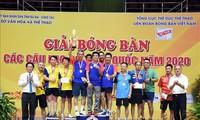 Abschluss des Tischtennisturniers der starken Klubs landesweit 2020
