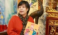 Präsentation des Buchs über die folkloristischen Hang Trong-Bilder
