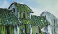 """Friedliches """"Nebelgebiet"""" in Ausstellung des Malers Le Thanh Son"""