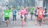 Mehr als 4.500 Läufer nehmen an Marathonlauf Hue 2020 teil