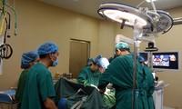 Effektivität der medizinischen Fernuntersuchung und -behandlung in Thai Nguyen