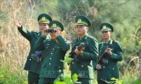 Verstärkung der Kräfte zur Verwaltung und zum Schutz der Grenze bei der Covid-19-Bekämpfung
