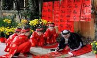 Neujahrsfest Tet der drei Regionen in der Altstadt Hanois