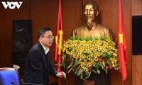 Die Stimme Vietnams verstärkt Informationen über den 13. Parteitag