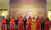 Eröffnung der Ausstellung für folkloristische Bilder Vietnams