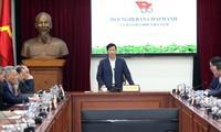 Olympisches Komitee will mit vietnamesischer Branche für Sport und Gymnastik Schwierigkeiten überwinden