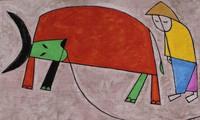 """Ausstellung """"Begrüßung des Goldenen Büffels"""" in Hanoi"""