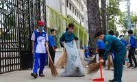 Jugendliche von Ho Chi Minh Stadt engagieren sich für Bekämpfung der Covid-19
