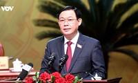 Sekretär der Parteileitung Hanois fordert die Beschleunigung des Bauverlaufs der Einrichtungen für Sea Games 31