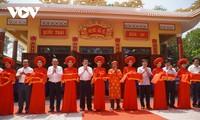 Einweihung des restaurierten Tempels Van Phuoc in Provinz Long An