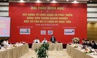 Konkretisierung des Beschlusses: Ehrgeiz vietnamesischer Unternehmer erwecken