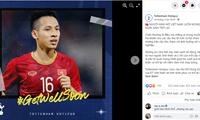 Fußballklub Tottenham beglückwünscht Mittelfeldspieler Do Hung Dung den baldigen Rückkehr