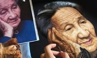 Vietnamesische Stickbilder weltweit vorgestellt