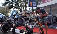 Triathlonrennen Vietnam 2021 in Küstenstadt Vung Tau