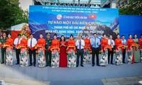 """Fotoausstellung """"Stolz auf die Grenze"""" in Ho Chi Minh Stadt"""