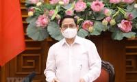 Premierminister appelliert an die Bevölkerung, mit der Regierung die Covid-19-Epidemie zu bekämpfen